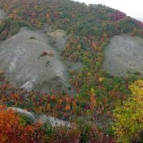 Chalk outcrops - Park of Bolognese Gypsums and the Abbadessa Gullies