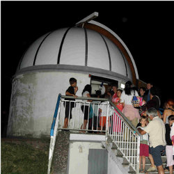 "Guided visit to the Astronomical observatory at ""Persiceteidi"" - Museum of the sky and the earth"