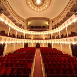 The Consorziale theatre of Budrio - Provincia di Bologna (Photo by Paolo Barone)