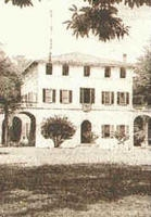 A vintage photo of Villa Rossini - Comune di Castenaso
