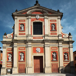 Collegiata church of Santa Maria Maggiore of Pieve di Cento