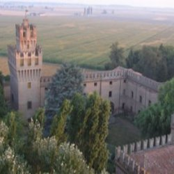 Castle of Galeazza Pepoli, aerial view - Cultural association Reading Retreats in Rural Italy