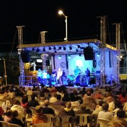 Funo in festa -  the stage