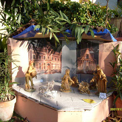 Nativity scene exposed in Pieve di Cento in 2007