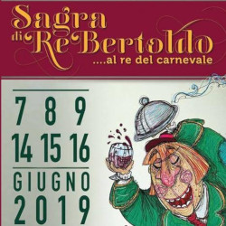 Leaflet of the Re Bertoldo festival