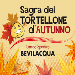 "Poster of the ""Sagra tortellone autunno"" di Bevilacqua"