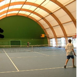 Tennis court - Giancarlo Melotti sport center