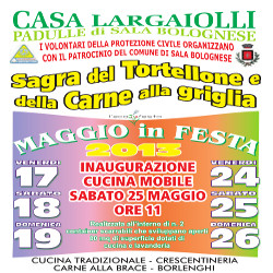 Tortellone and grilled meat festival